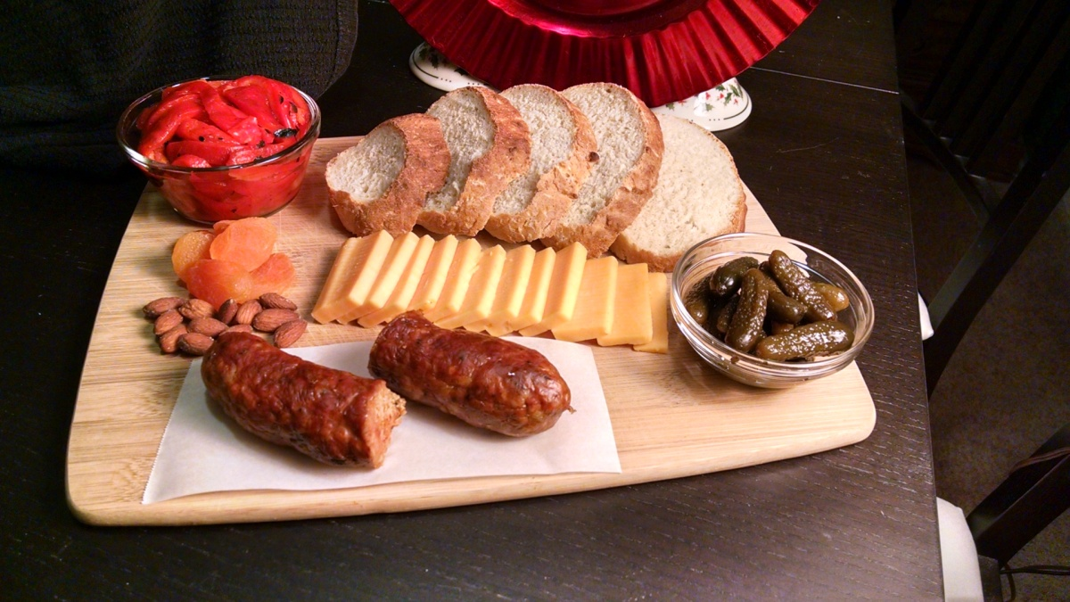 Quick & Easy: Ploughman's Dinner