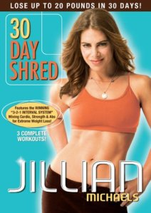 http://www.amazon.com/Jillian-Michaels-30-Day-Shred/dp/B00127RAJY