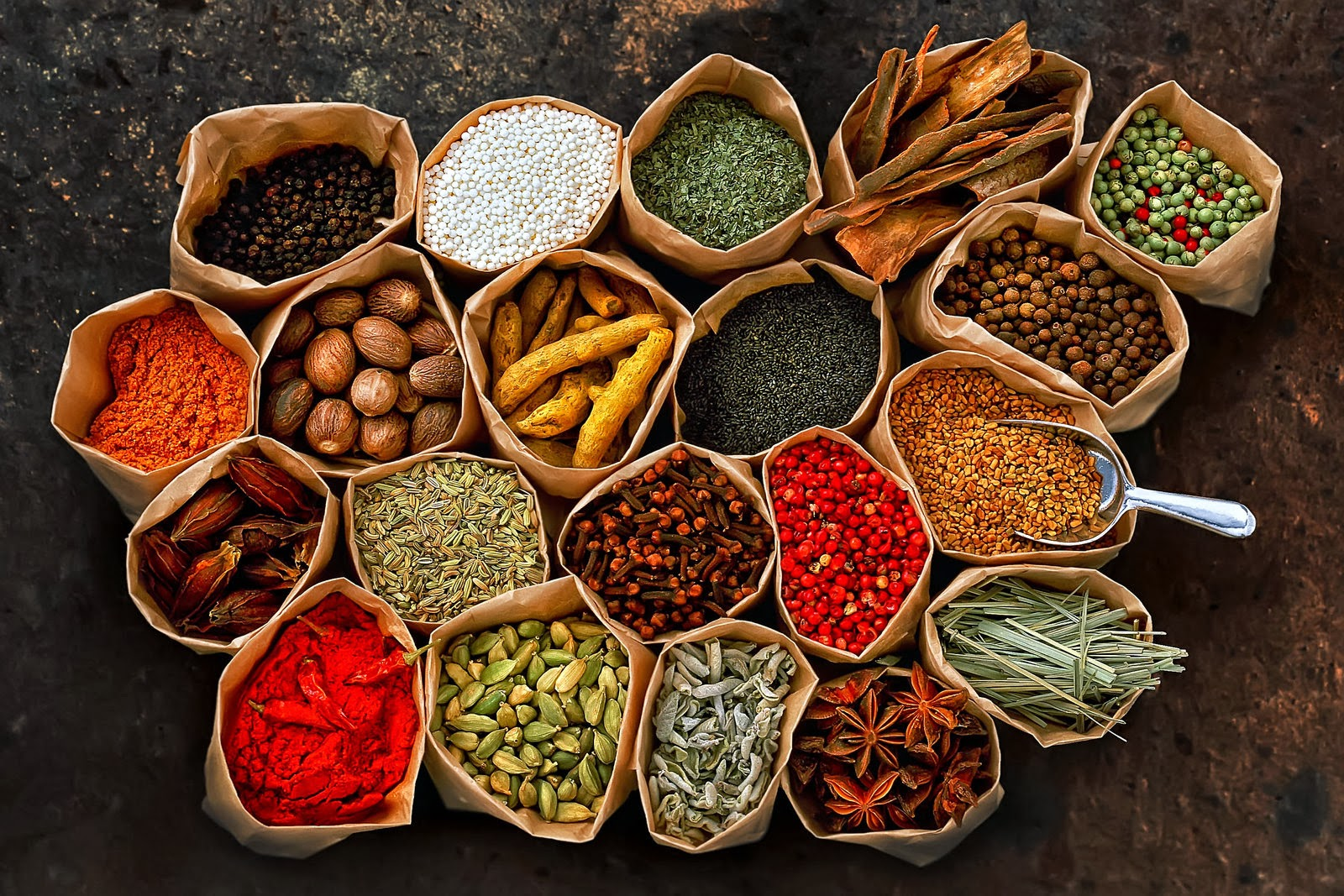 Exotic spices list