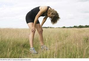 What I would look like if I tried to run. - Andrea