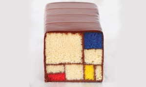 http://www.theguardian.com/lifeandstyle/shortcuts/2013/apr/17/cake-looks-like-a-mondrian-painting