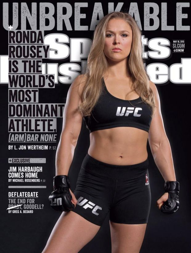 http://www.foxsports.com/ufc/story/ufc-ronda-rousey-lands-sports-illustrated-cover-051215