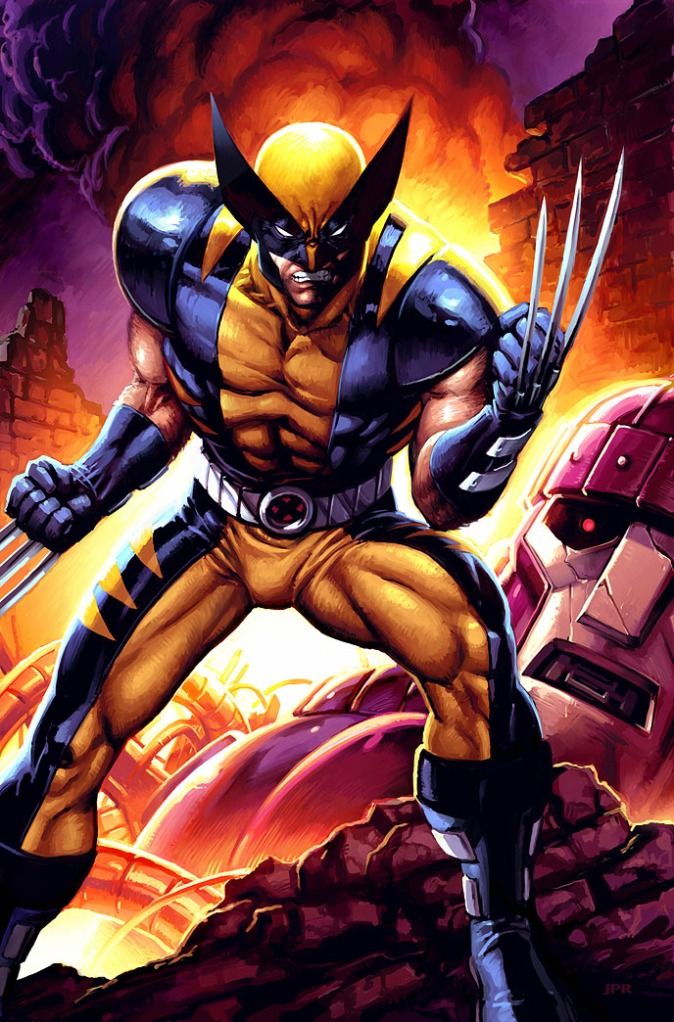 Only a huge amount of steroids would let someone actually look like comic book Wolverine.  Image courtesy of comicvine.com