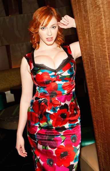 People body shame Christina Hendricks all the time because she's larger than average, but I think a lot of women would KILL to look like her.