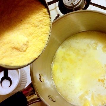 how to make crispy polenta