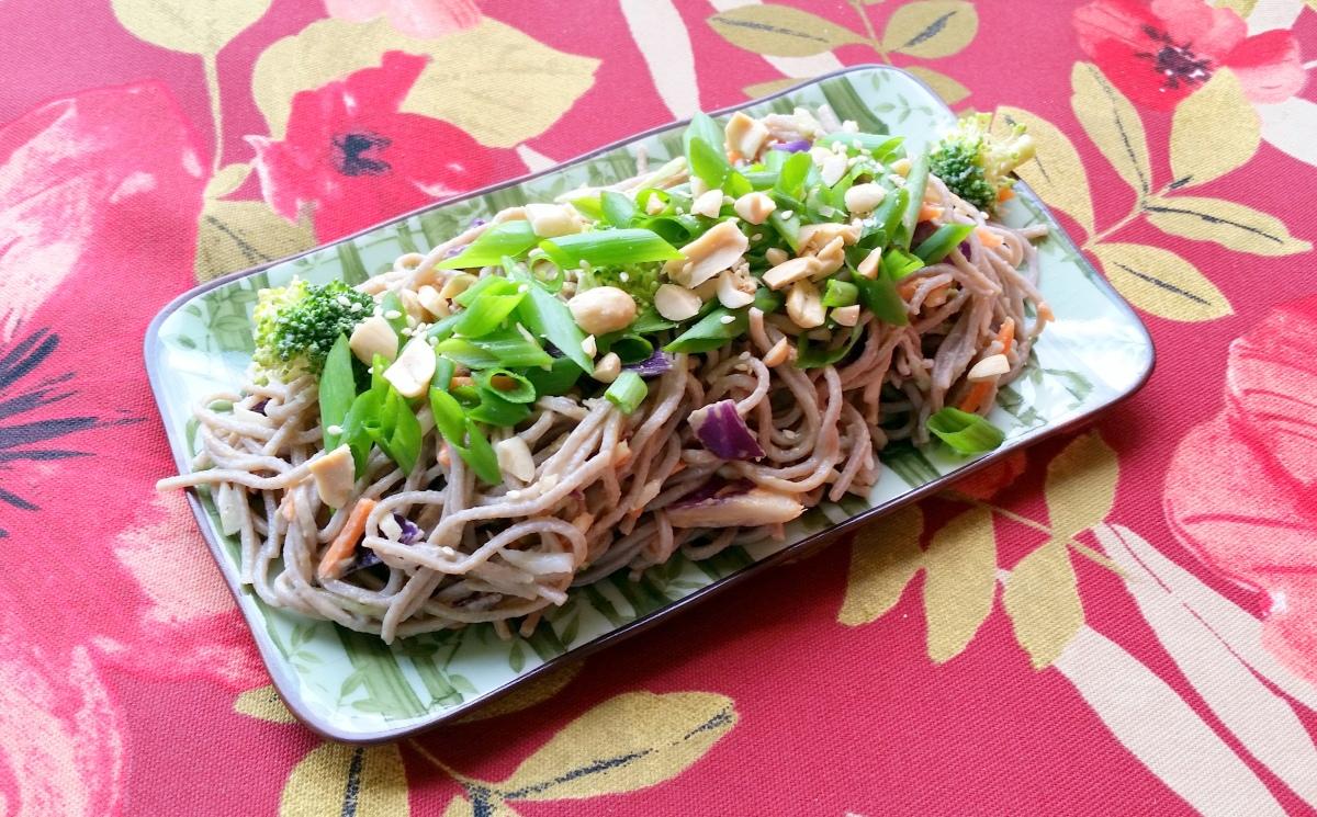 Recipe: Cold Peanut Soba NoodleSalad