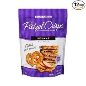 pretzel crisps