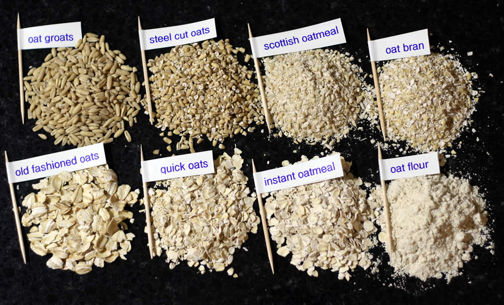 What Is Difference Between  Minute And Old Fashioned Oats