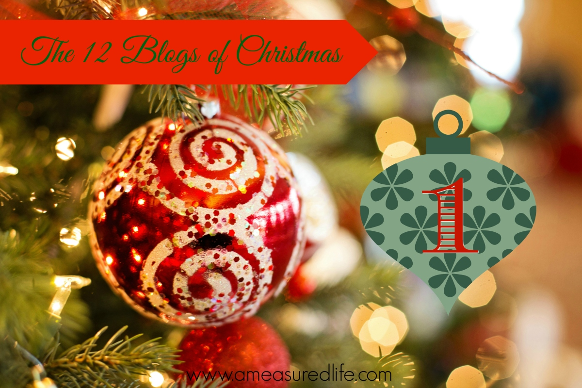 The Twelve Blogs of Christmas – 1