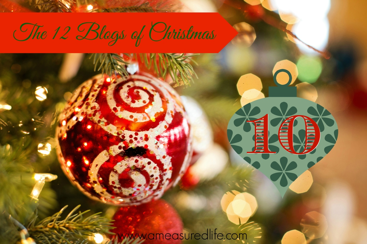 The Twelve Blogs of Christmas –10