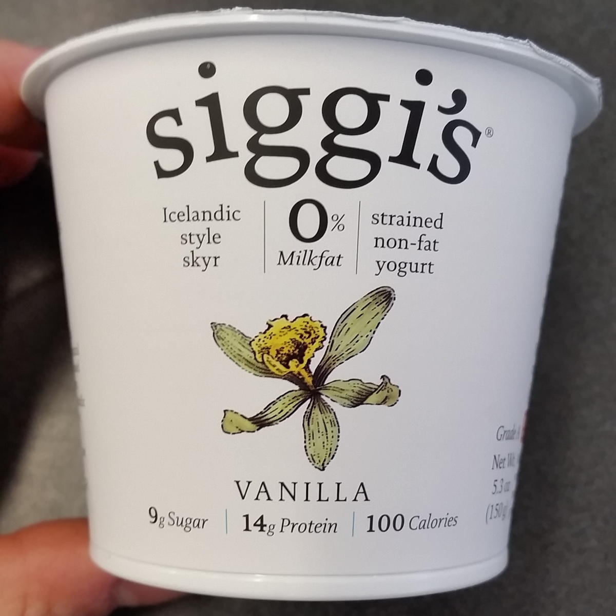 Healthy Food Review: Siggi's Icelandic Style Skyr
