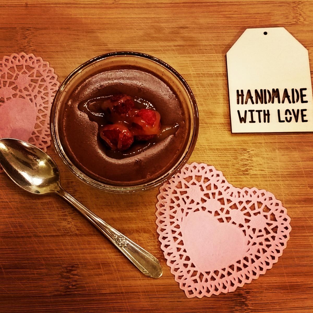 Recipe: Dark Chocolate Coconut Milk PannaCotta