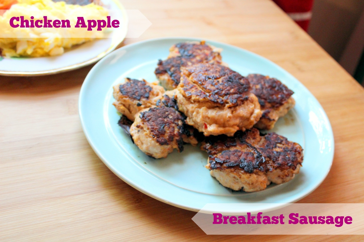Recipe: Chicken Apple Breakfast Sausage (Paleo & Whole 30 Compliant)