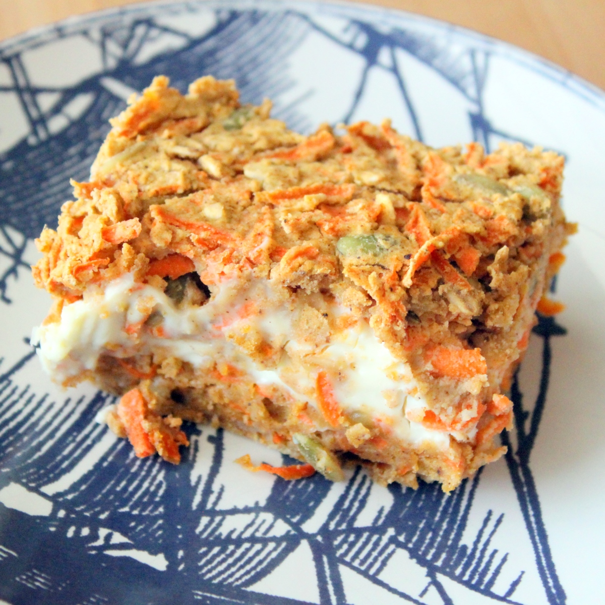 Recipe: Breakfast Carrot Cake Squares (Gluten Free)